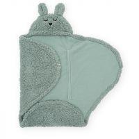 Jollein - Wrap blanket Bunny - Ash Green