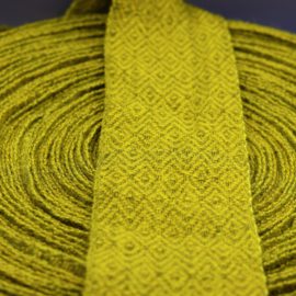 Beenwindsels diamantkeeper tweekleurig geel per meter