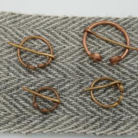Fibula brons 2.5 cm