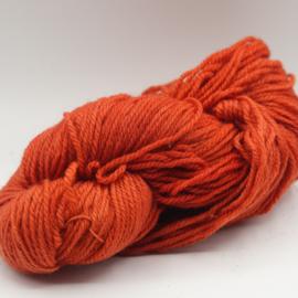 Getwijnde rood/oranje