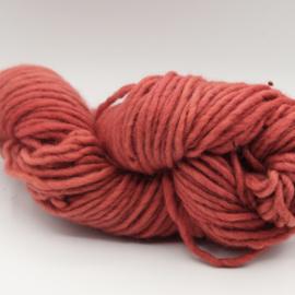 Viltwol 1/1 rood/roze
