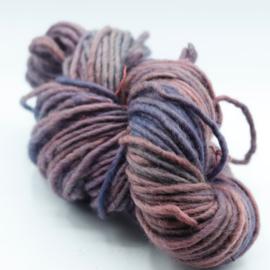 Viltwol 1/1 roze/grijs gemêleerd