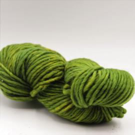 Viltwol 1/1 groen gemêleerd