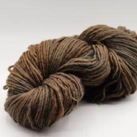 viltwol dun bruin grijs gemêleerd