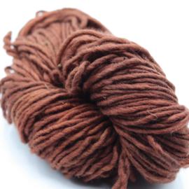 Viltwol 1/1 rood/bruin  gemêleerd