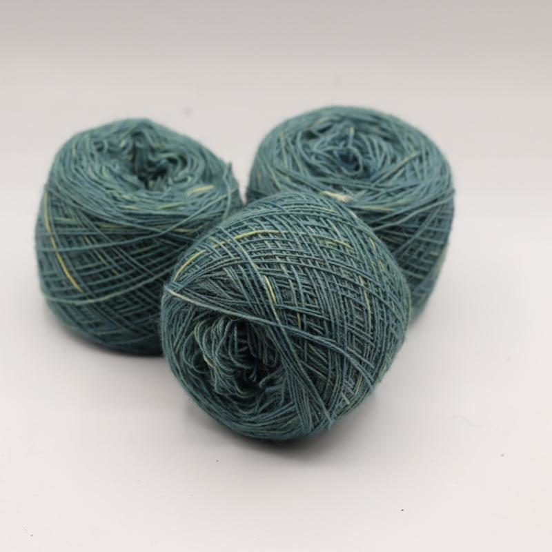 Weefgaren  licht turquoise 465