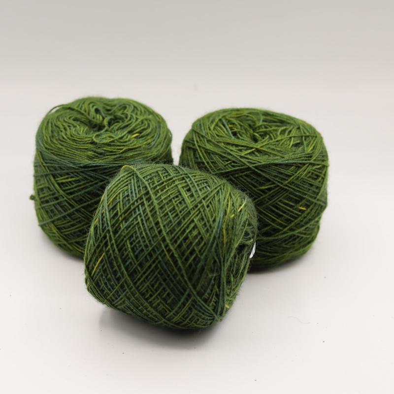 Weefgaren  blad groen 466