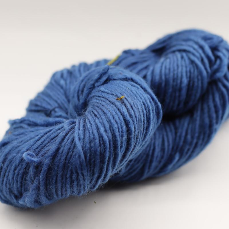viltwol dun blauw  gemêleerd