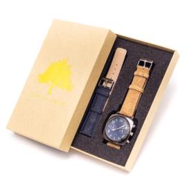 Horloge 'Duo Navy'