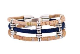 Armband 'Blue & Spots'