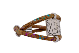 Armband 'Rainbow Twist'