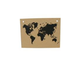 Prikbord 'World Map'