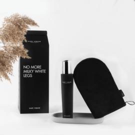 NO MORE MILKY LEGS - natural tanning Mousse + Gratis Glove