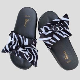 Pinned by k slipper zebra