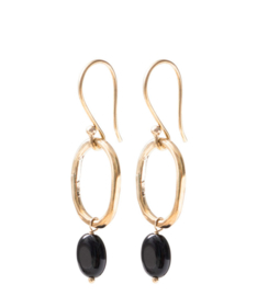 A beautiful story graceful Black onyx gold