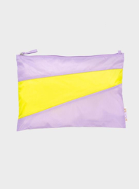 Susan BIjl The New Pouch Idea & Fluo Yellow Large