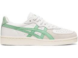 Asics gsm white/ ice green