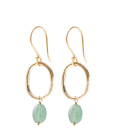 A beautiful story graceful Aventurine gold