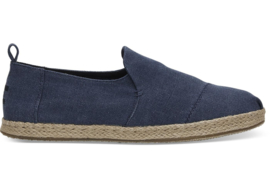 Toms navy washed canvas
