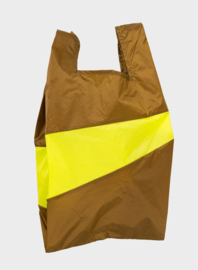 Susan The New Shopping Bag Make & Fluo Yellow Large