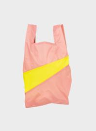 Susan BIjl The New Shopping Bag Try & Fluo Yellow Medium