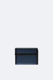 Rains velcro wallet blue