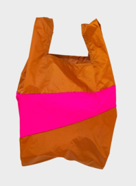 Susan Bijl The New Shopping Bag Sample & Pretty Pink Large