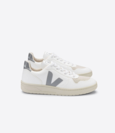 Veja V-10 CWL white oxford grey (vegan)