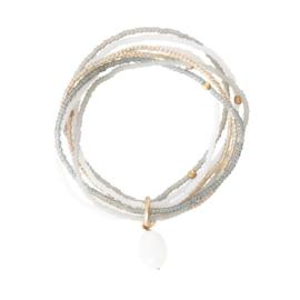 A beautiful story Nirmala moonstone armband