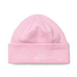 Sui Ava Mariah beanie pastel pink