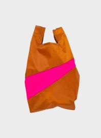 Susan BIjl The New Shopping Bag Sample & Pretty Pink Medium