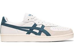 Asics gsm white/ winter sea