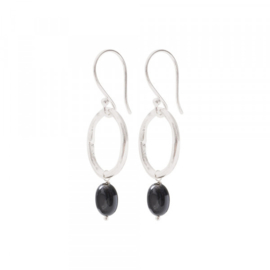 A beautiful story graceful Black onyx silver