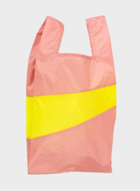 Susan Bijl The New Shopping Bag Try & Fluo Yellow Large