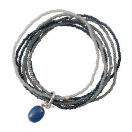 A beautiful story Nirmala lapis lazuli armband