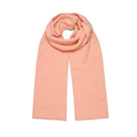 Sui Ava Mariah scarf pastel peach