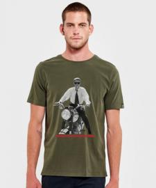 T-shirt Hero Seven Overdrive - Basil