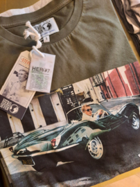 T-shirt Hero Seven Green Chrome - Basil