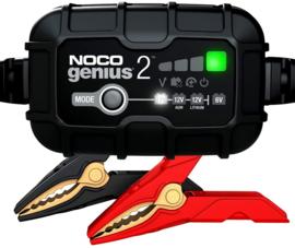 Acculader & onderhouder - Noco Genius 2  6/12V