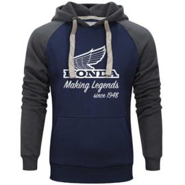 Honda Vintage Legend Maker Hoodie Blue