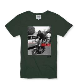 T-shirt Hero Seven BONNEVILLE T100 - Moss