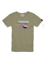 T-shirt Hero Seven The Driver Dry Kaki