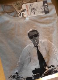T-shirt Hero Seven Overdrive - Spray White