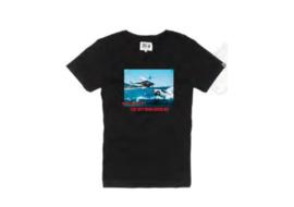T-shirt Hero Seven Helico - Black