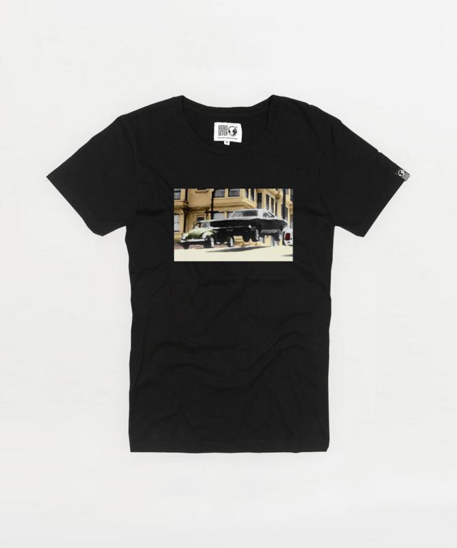 T-shirt Hero Seven Dodge - Black
