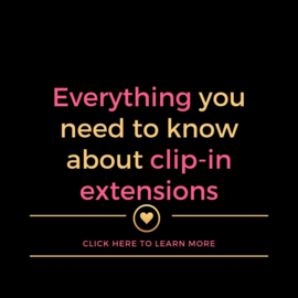 Everything you need to know about clip-in extensions