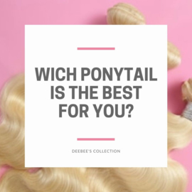 Wich ponytail is the best for you?