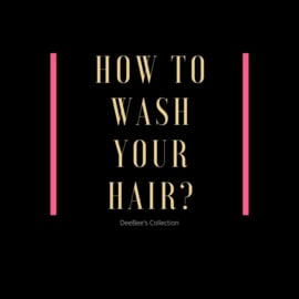 How to wash your hair?