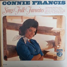 Connie Francis - Sings Folk Favourites