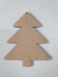 Kerstboom blanco